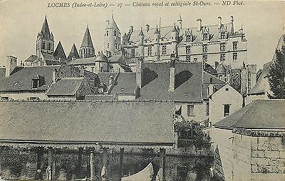 37 Loches Chateau Royal Et Collegiale St-Ours - Nd
