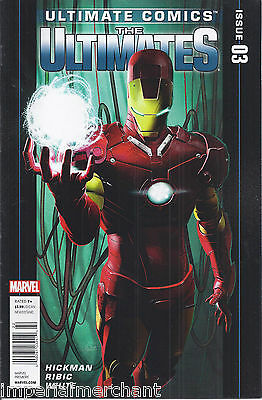 Ultimate Comics Issue 3 Modern Age First Print Hickman Ribic White Marvel