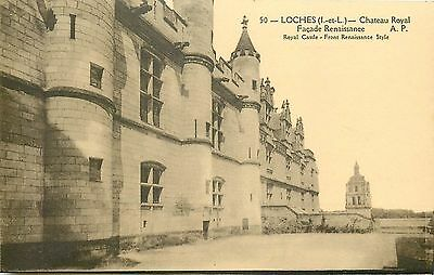 37 LOCHES le chateau royal