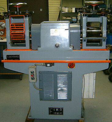 Famor / Boniardi Double Head Rolling Mill For Wire And Plate 160 X 90 Mm Rollers