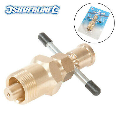 Silverline 675228 15mm&22mm Olive Remove Puller Solid Brass Copper Pipe Fitting