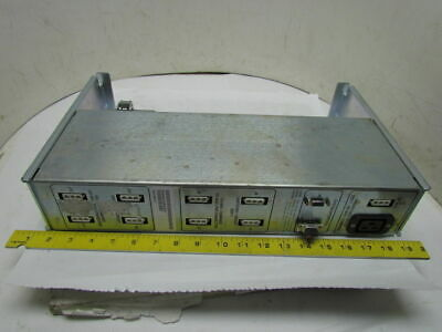 E-M Solutions 3001393-01 Model 10 Power Sequencer 200-240V 47/63Hz 24 Amp