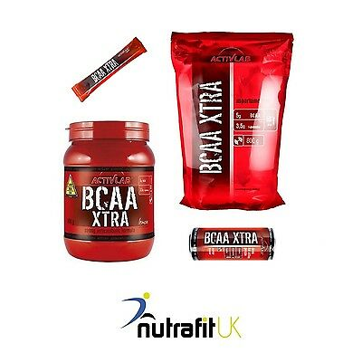 ACTIVLAB BCAA XTRA Amino Acids Powder Drink Glutamine
