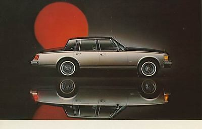 1978 Cadillac Seville Large Factory Foldover Postcard With Envelope my1710