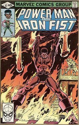 Power Man And Iron Fist #63 - VF-