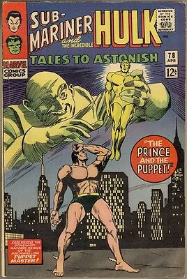 Tales To Astonish #78 - VG/FN