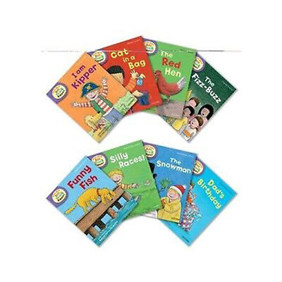 Oxford Reading Tree Read With Biff Chip & Kipper Level 2 Collection 8 Books Set