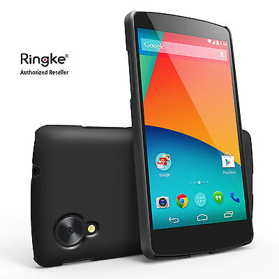 Custodia Cover Ultra Slim Case Rigida Ringke + Pellicola per LG Google Nexus 5
