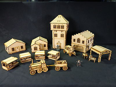 TTCombat - Old Town Scenics - Town Set 1 - Great for Malifaux