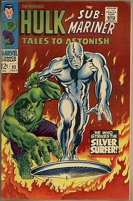 Tales To Astonish #93 - VF-