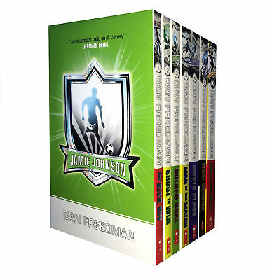 Dan Freedman Jamie Johnson Football Series 7 Book Collection Set Pack NEW PB