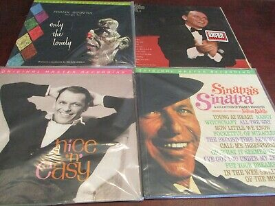 Frank Sinatra's Sinatra  Live Paris Only The Lonely Nice N Easy Mfsl 4 Lp's + 1