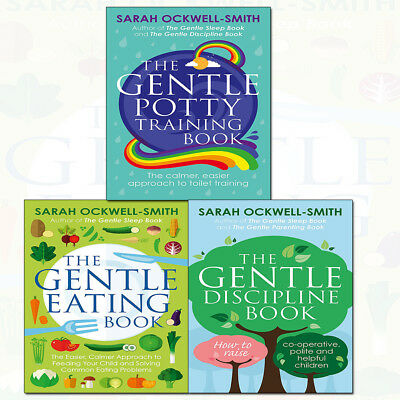 Sarah Ockwell-Smith Gentle Eating Book 3 Books Collection Set Gentle Discipline