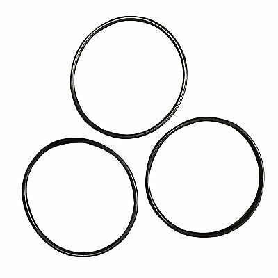 "3 Pack Replacement O Rings for standard 10"" Reverse Osmosis RO Unit Housing"