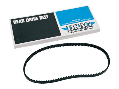 Drag Specialties 132 Tooth 20Mm Drive Belt Harley Davidson 07-16 Fxst Fxcw Flst