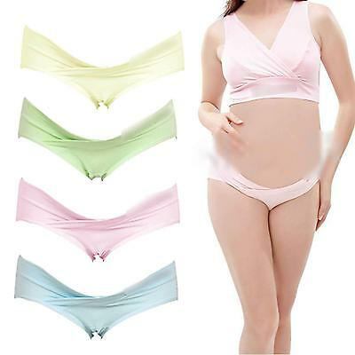 Low Cut Pregnant Women Mother's Maternity Lady Soft Knickers Underpants Panties