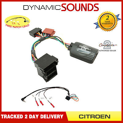 DS-CT001.2 Steering Stalk Control Interface Adaptor Lead For Peugeot Expert