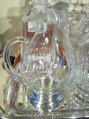 COOL MID CENTURY STYLE - STERLING FOOTED MARTINI BEVERAGE PITCHER - 24 OZ Size