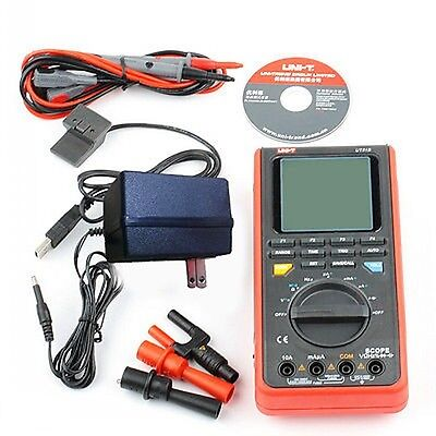 New UNI-T UT81B LCD Digital Scopemeter Multimeter Oscilloscope w/USB/ LCD Tester
