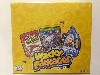 2014 Topps  Wacky Packages Series 1  Retail Box (24 Packs)