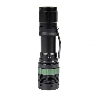 Zoomable 2000 Lumen CREE XM-L T6 Tactical LED Flashlight Torch +Battery+Charger
