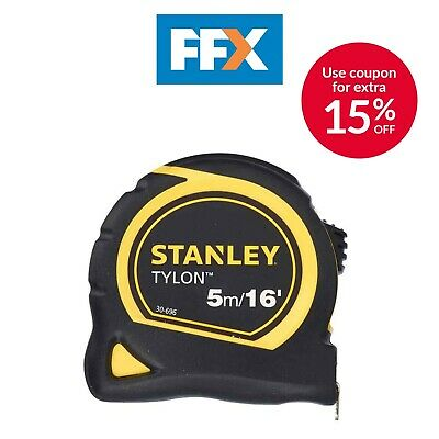 Stanley STA030696N Tylon Pocket Tape 5m/16ft 19mm 0-30-696