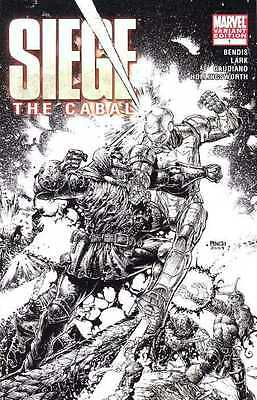 Siege The Cabal #1 David Finch Retail Sketch Variant 1:75 Nm+ Marvel Comics