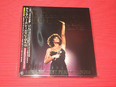 Whitney Houston Live Her Greatest Performances Japan Cd + Dvd Edition