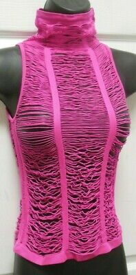 NEW Ballet skirt full circle Body wrappers fushia M//L circle pull up chiffon