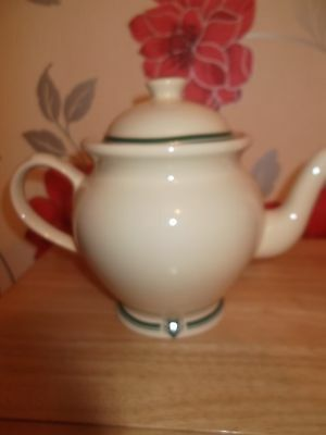 THE 1869  VICTORIAN POTTERY TEAPOT
