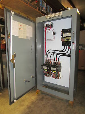 Square D Reduced Voltage Combo Starter Size 5 Motor Controller 150 HP 8536 SGO1