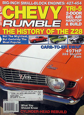 The History of the Z28 - October 2005