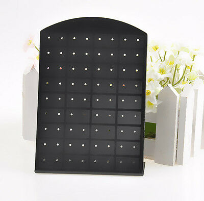 black 36 Pair Jewelry Holder Organizer Earrings Display Stand show case tool