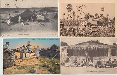 NORTH AFRICA TYPES FOLKLORE 48 Vintage Postcards Mostly pre-1940