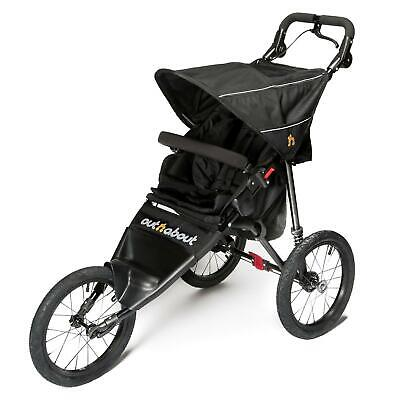 Out n About Nipper Sport V4 Jogger (Raven Black) Active Fitness Pushchair