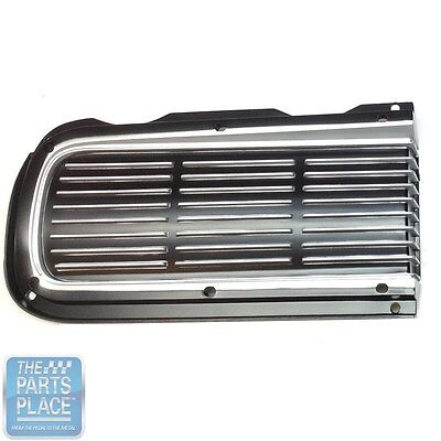 1968 Pontiac GTO / LeMans Hideaway Headlamp Door Grille - Right Hand