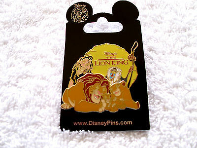 Disney * LION KING CAST- SUNSET * New on Card Character Trading Pin - Simba Scar