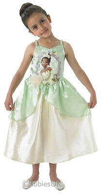 Tiana Disney Princess Fancy Dress Costume Girls Outfit Childrens Childs Kids M
