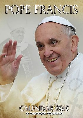 Pope Francis 2015 A3 Large Wall Calendar - New & Sealed - Christmas Gift Papal