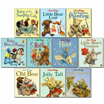 Jane Hissey Collection 10 Books Set, Ruff, Jolly Snow, Old Bear,Little Bear Lost