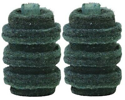 2 Pack Wool Felt Fuel Oil Filter Replacement Cartridge by General Filter 1A-30