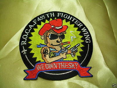 (C2) ROC Taiwan Air Force patch - F-16 Falcon 455TH Tactical Fighter Wing #B