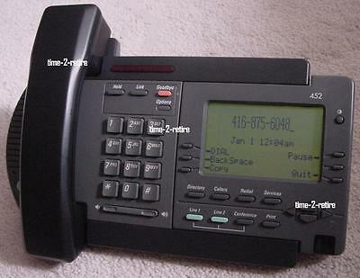 Nortel Vista 452 Power Touch 452 Two Line Telephone