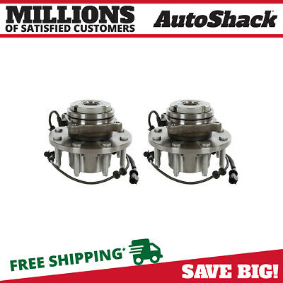 Front Pair (2) Wheel Hub Bearing Assembly For 99-04 Ford F-250 Super Duty w/ABS