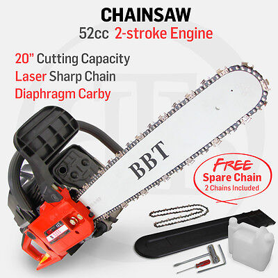 BBT Chainsaw Chain Saw Commercial Grade BRAND NEW MODEL with Extra FREE Chain