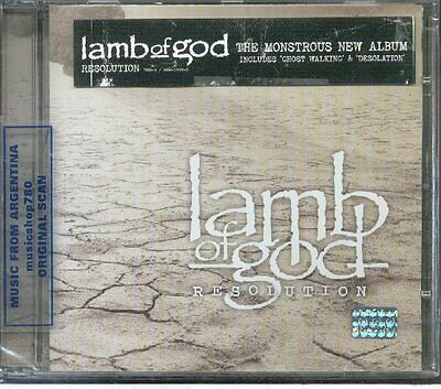 Lamb Of God Resolution Sealed Cd New