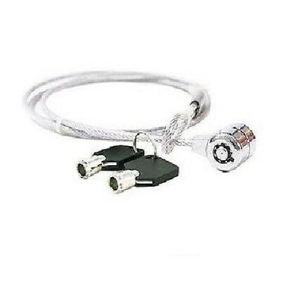 Notebook Laptop Computer Pc Security Lock Cable Chain With Two Keys Anti-Theft