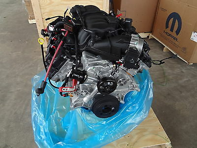 Dodge 6.4L 392 Hemi Complete Drop In Engine Assembly New Mopar Hot Rod Crate Oem