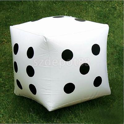 2Pcs Large Inflatable Blow-up Dot Dice Kids Party Favours Outdoor Pool Toy 32cm