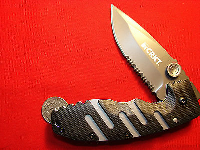 CRKT RYAN SEVEN LINERLOCK FOLDER  columbia river knife and tool  86813Z
